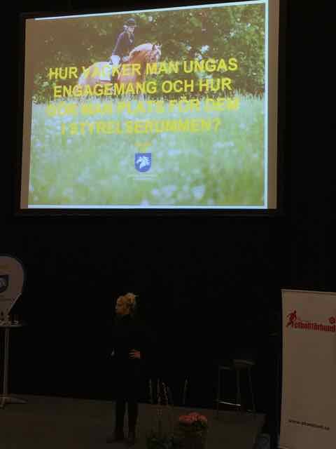 idrott styrelse umgdomsstyrelse ridsportsförbundet engagemang