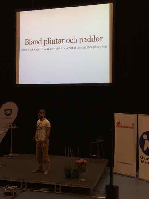 Kalle Zackari Wahlström gympaläraren svett och etikett sport idrott