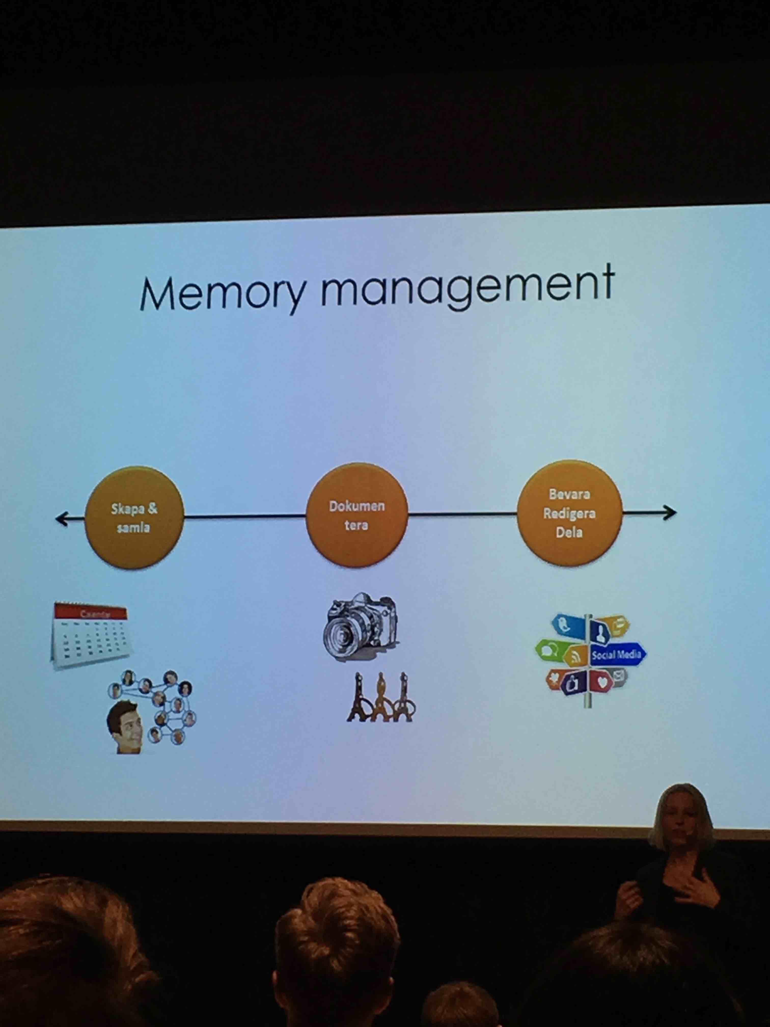 Memory management sport upplevelser
