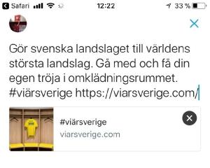 #viärsverige sportidealisten idrottsvetare sport management twitter