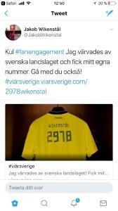 #viärsverige sportidealisten idrottsvetare sport management twitter wikenstål