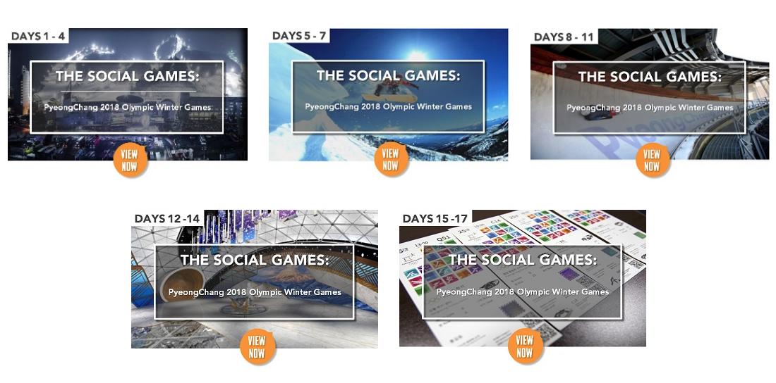 Social Games OS Olympiska Spelen Sociala medier sportmarknadsföring Sportsponsring Idrottsvetare Sportidealisten Sport Management