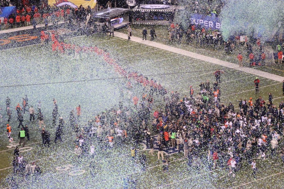 Super Bowl hållbarhet waste management Sportidealisten Idrottsvetare