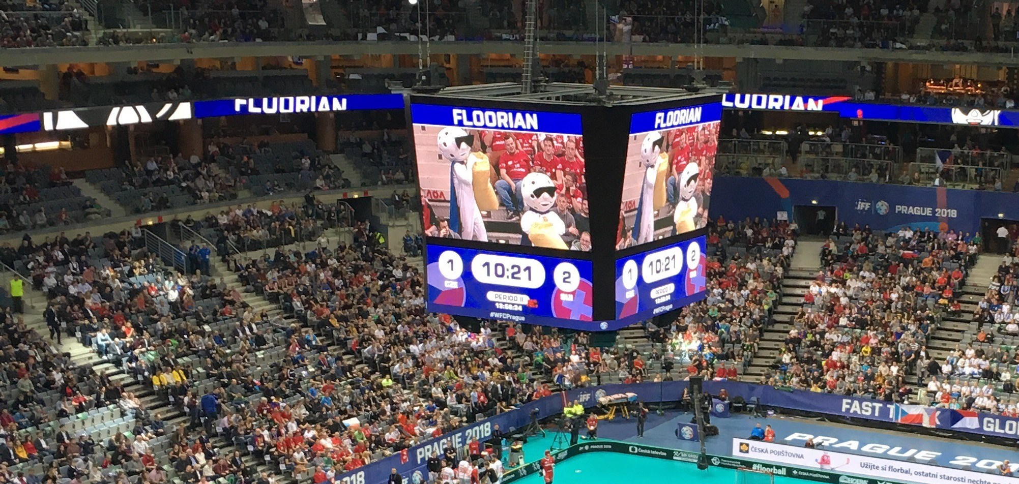 Fan Engagement Innebandy VM Sportidealisten Sport Management Idrottsvetare SportJobb IdrottsJobb Maskot