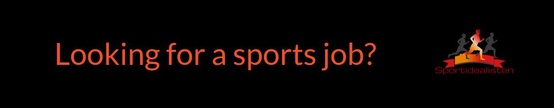 Lediga sportjobb och idrottsjobb i Sverige via Sportidealisten