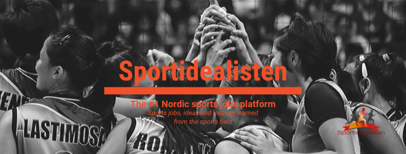 Sportidealisten is a sports job platform in order to help you find your dream job in sports or find your dream candidate.