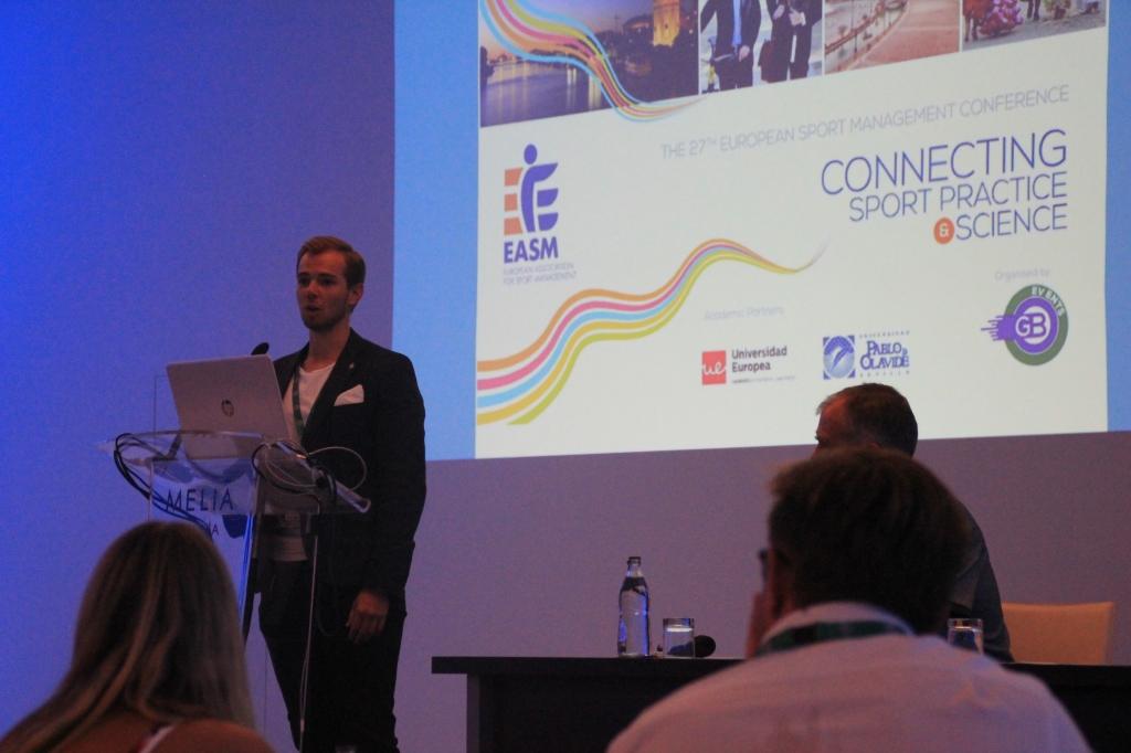 EASM Sport Management Jakob Wikenstaal